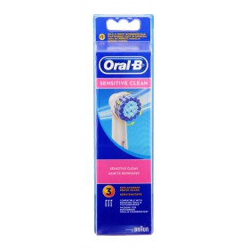 Oral B - Brossettes de rechange Sensitive Clean x3