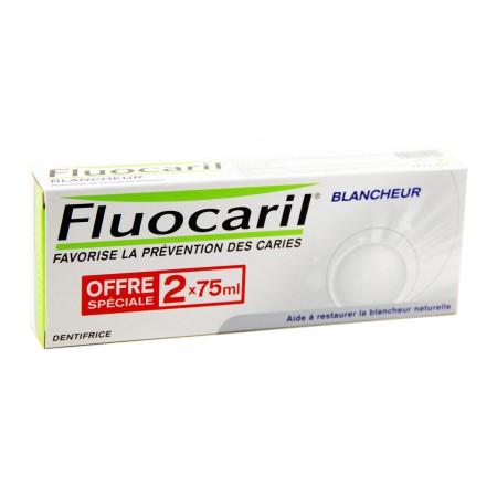 Fluocaril - Dentifrice Blancheur 2x75ml