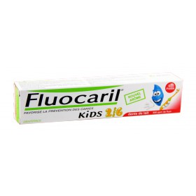Fluocaril - Dentifrice Kids Gel Fraise 50ml