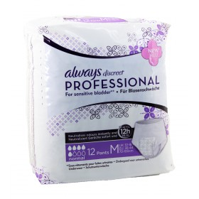 Always - Discreet Professional Sous-vêtements Normal Taille M x12