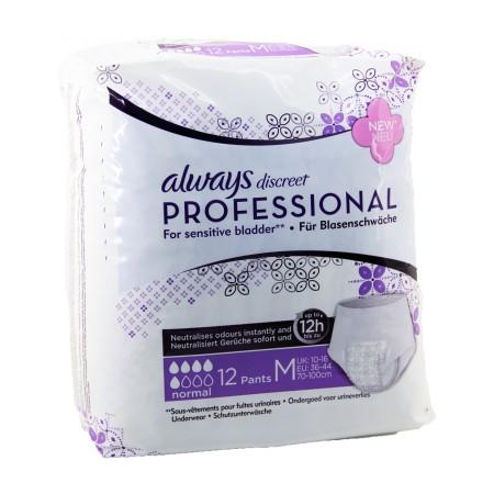 Always - Discreet Professional Sous-vêtements Normal Taille M x12