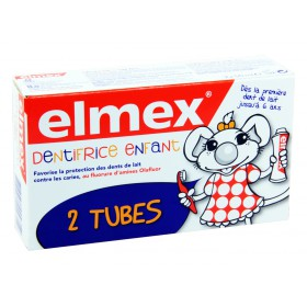 Elmex - Dentifrice enfant 2x50ml