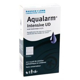 Aqualarm Intensive UD - Solution lubrifiante 30x0,5ml