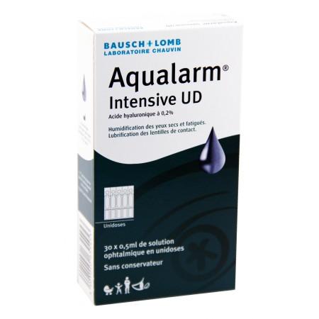 Aqualarm Intensive UD - Solution lubrifiante 30x0,5ml