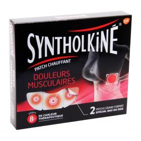 Synthol Kiné - Patch chauffant douleurs musculaires grand format x2