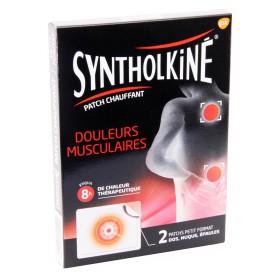 Synthol Kiné - Patch chauffant douleurs musculaires x2