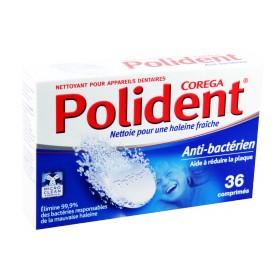 Polident - Nettoyant pour appareils dentaires 36 comprimés