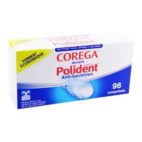 Polident - Nettoyant pour appareils dentaires 96 comprimés