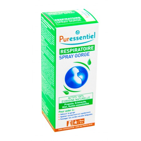 Puressentiel - Respiratoire spray gorge 15ml
