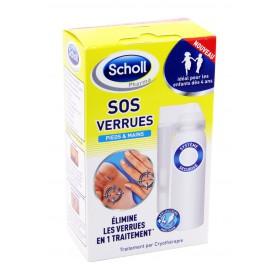 Scholl - SOS verrues pieds & mains 80ml