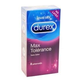 Durex - Max tolérance préservatifs sans latex x8
