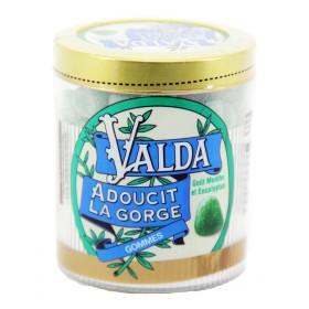 Valda - Gommes goût menthe et eucalyptus 160g