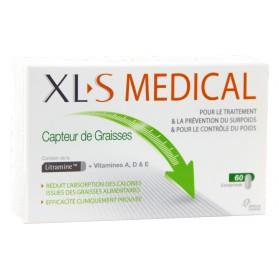 XLS Médical - Capteur de graisses 60 Comprimés