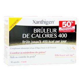 XLS Médical - Brûleur de calories Xanthigen 400 90 Capsules