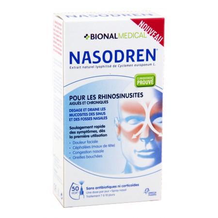 Nasodren - Extrait naturel lyophilisé de Cyclamen europaeum Spray nasal 50g