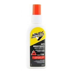 Apaisyl répulsif moustiques - Émulsion anti-moustiques spray 60ml