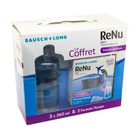 Renu - Solution multifonctions pour lentilles 3x360ml