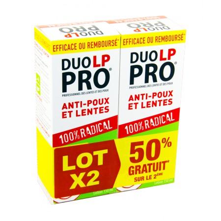Duo LP-Pro - Lotion radicale lentes et poux 2x150ml