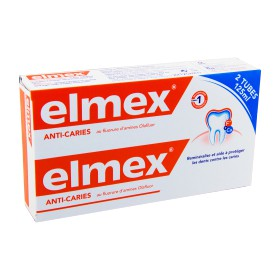 Elmex - Protection caries dentifrice 2x125ml
