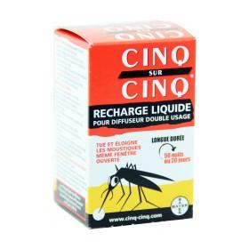 Cinq sur Cinq - Recharge liquide anti-moustiques 35ml