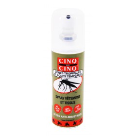 Cinq sur Cinq - Zones tropicales et tempérées spray vêtements et tissus 100ml