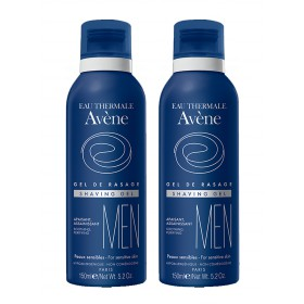 Avène Men - Gel de rasage apaisant assainissant 2x150ml