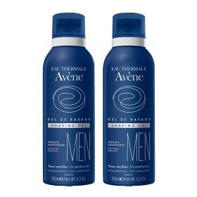 Avène Men - Gel de rasage apaisant assainissant 2x150ml
