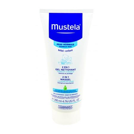 Mustela Bébé - 2 en 1 Gel nettoyant corps et cheveux 200ml
