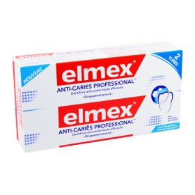 Elmex - Anti-caries professional dentifrice 2x75ml