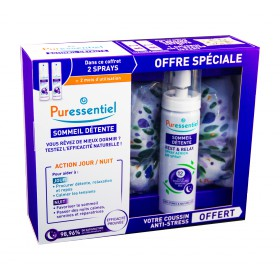 Puressentiel - Coffret Sommeil détente spray aérien 2x75ml