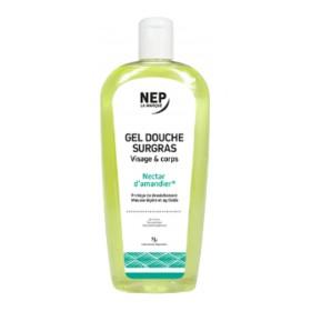 Nepenthes - Gel douche surgras amande visage et corps 500ml