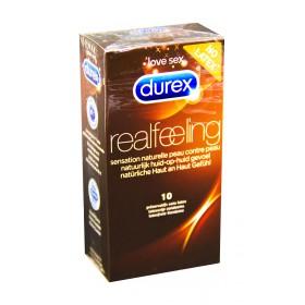 Durex - Real feeling préservatifs sans latex x10