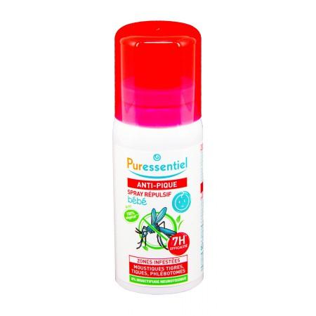 Puressentiel - Anti-pique spray répulsif bébé 60ml