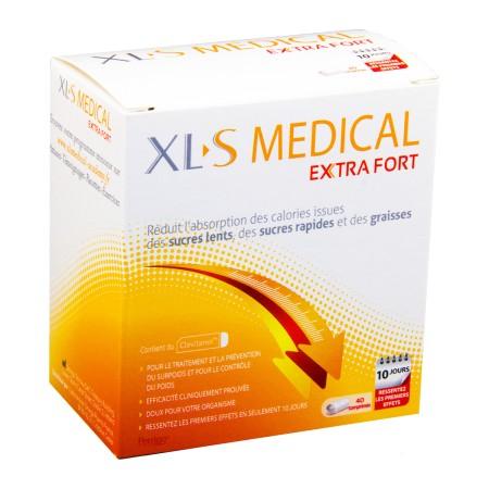 XLS Médical - Extra fort 40 Comprimés