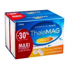 Thalamag - Magnésium marin fer B9 vitalité 2x60 Gélules