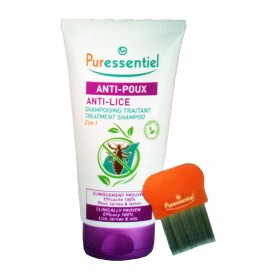 Puressentiel - Shampooing traitant 2-en-1 anti-poux 150ml
