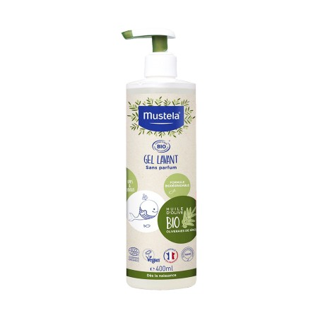 Mustela - Gel lavant Bio 400ml