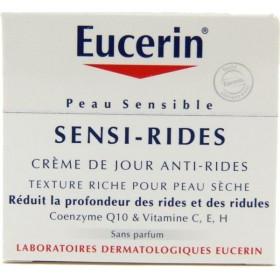 Eucerin - Sensi-Rides Crème de jour Peau sèche 50ml