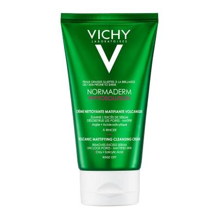 Vichy - Normaderm Phytosolution Crème nettoyante matifiante volcanique 125ml