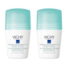 Vichy - Déodorant Anti-transpirant 48H Roll-on Lot de 2