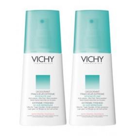 Vichy - Déodorant Ultra-frais 24H Parfum fruité Spray Lot de 2