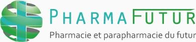 Logo de Pharmafutur, la parapharmacie en ligne.