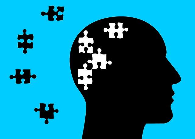 Dessin illustrant la maladie d'Alzheimer.