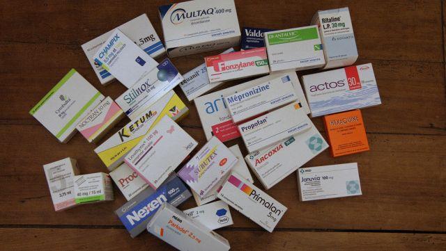 Médicaments de pharmacie.