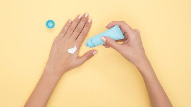 Cosmétique naturel pour les mains.