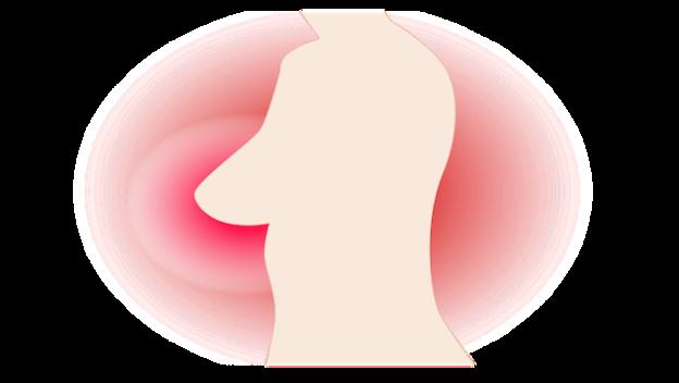 Dessin dépistage cancer du sein.